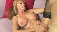 Buxom Milf Nicole Moore has hot oral before getting a hardcore fuck