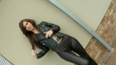 Gorgeous Misha Cross Can't Get Enough Of A Hard Pole Filling Her Butt