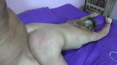 Stacked Rebecca Richards has a hard shaft taking her pussy to orgasm