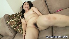 Decent amateur bitch lets us look inside her wet and drenched pussy