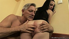 Juicy cocksucker gets seduced and plowed by horny guy Cristoph