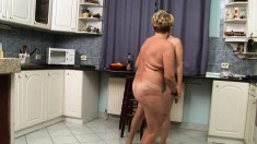 Lesbian Granny Gets To Eat Out, And Get Eaten By A Young Sweet Thing