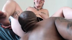 Interracial Fuck Busty Mature Loves Big Black Cock Insider H
