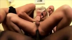 Interracial Bisexual Threesome
