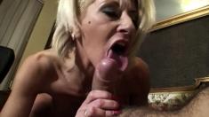 Busty Blonde German Pornstar Amy Reid