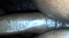 Big dick deep into this ebony booty doggystyle