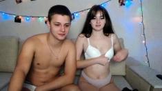 Hot Amateur Teen Webcam Girl Striptease