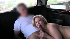 Sierras Gives Blowjob And Titjob